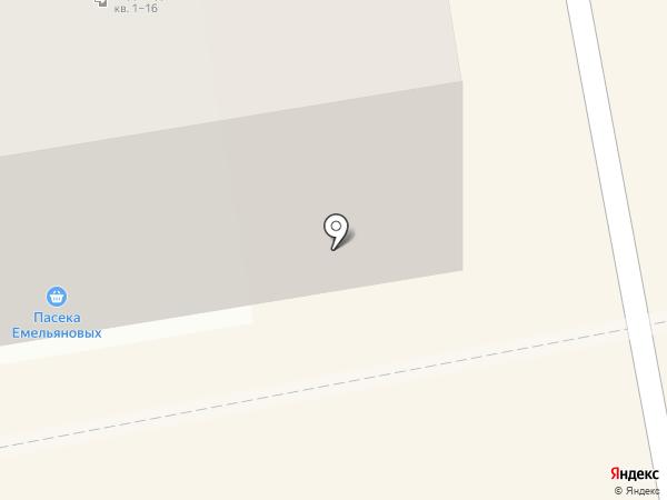 Русич на карте Абакана
