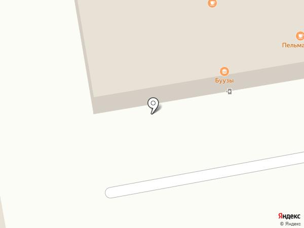 Иваныч на карте Абакана