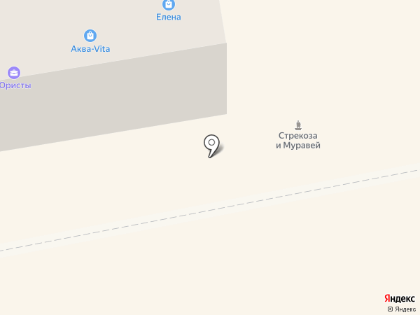 Лиственная на карте Абакана