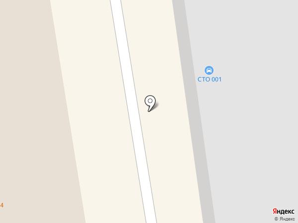 СТО 001 на карте Абакана