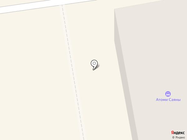 МегаФон на карте Абакана