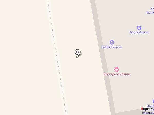 Платежный терминал, Хакасский муниципальный банк на карте Абакана