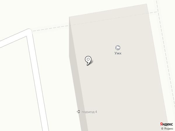 Управляющая жилищная компания, МУП на карте Абакана