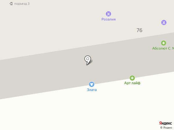 Verterra на карте Абакана