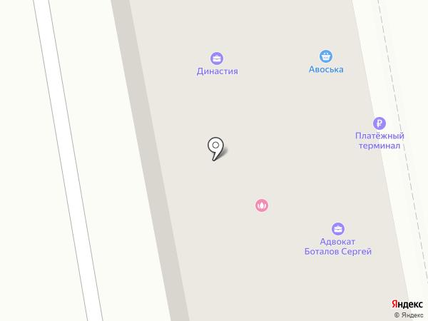 Мебелерно на карте Абакана