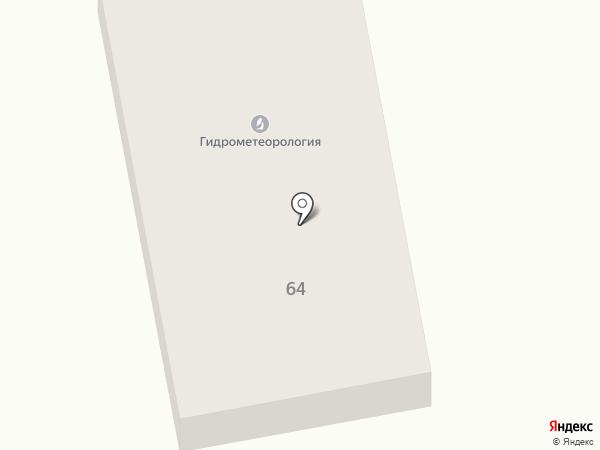Хакасский Республиканский центр по гидрометеорологии и мониторингу окружающей среды на карте Абакана