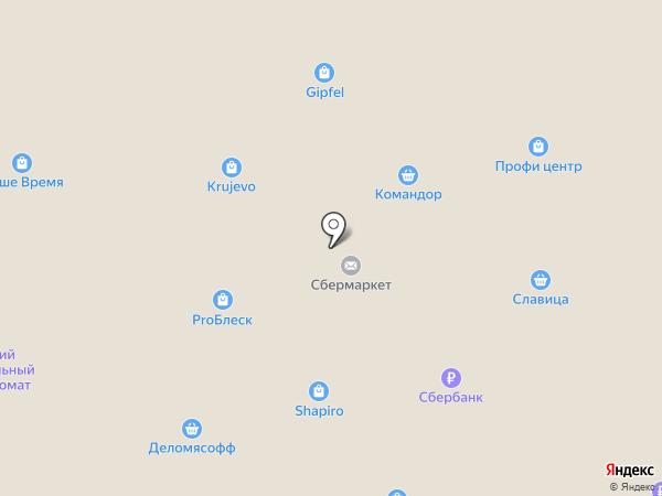 Кружево на карте Абакана