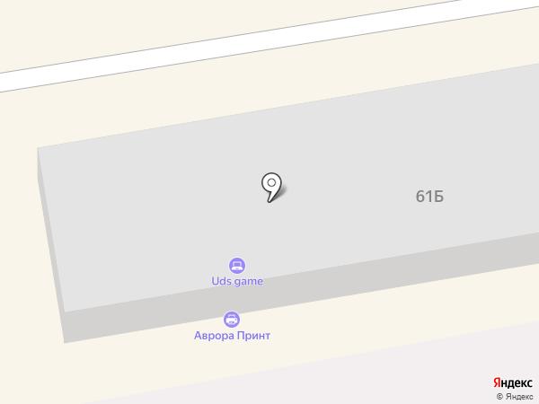 Винтаж на карте Абакана