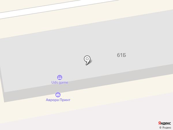 Кузов на карте Абакана