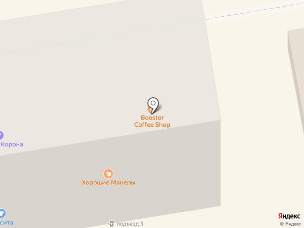Booster на карте Абакана