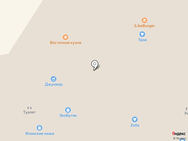 Serginetti на карте Абакана