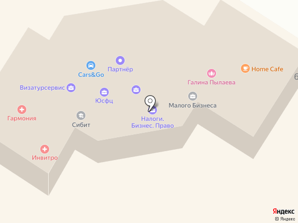 ХакасСтройИзыскания на карте Абакана