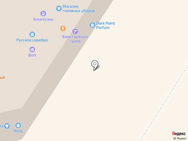 Банк горящих туров на карте Абакана