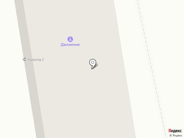 Движение на карте Абакана