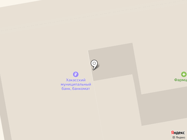 Фармагрош на карте Абакана