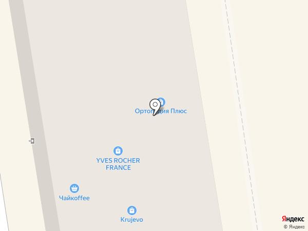 Krujevo на карте Абакана