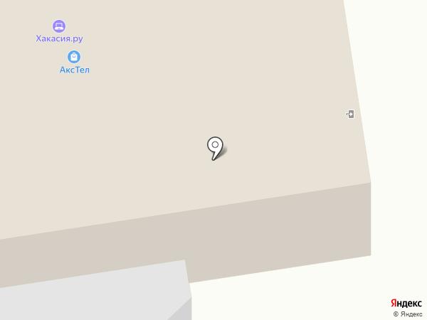 Макро на карте Абакана