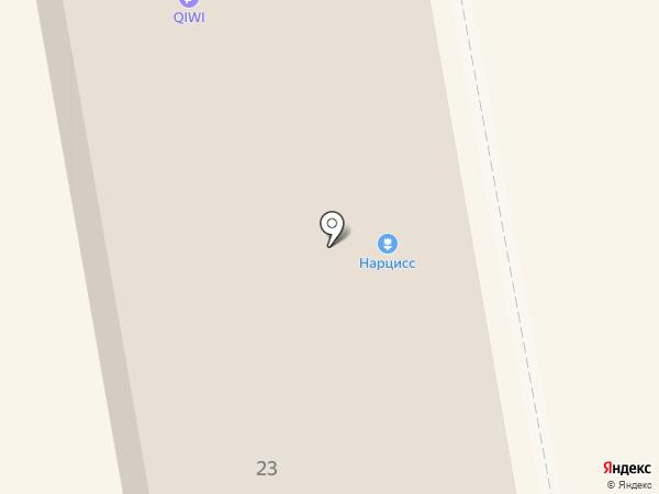 Л`Этуаль на карте Абакана