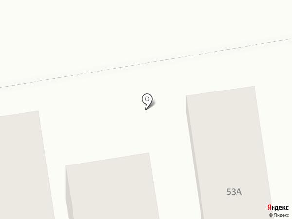 Автодуш на карте Абакана