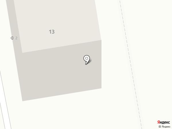 Детали дома на карте Абакана