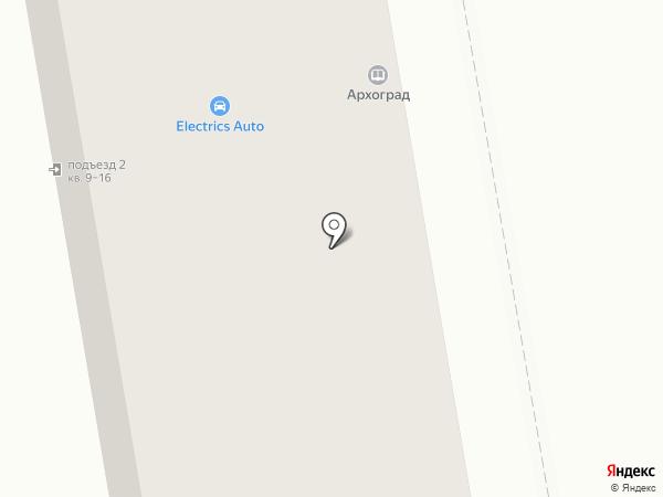 Архитектура и градостроительство, МКУ на карте Абакана