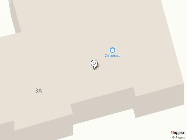 Скрепка на карте Абакана