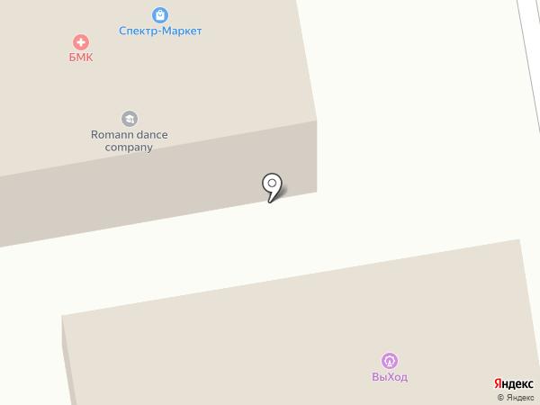 ВыХод на карте Абакана