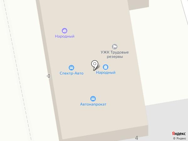 Митра на карте Абакана