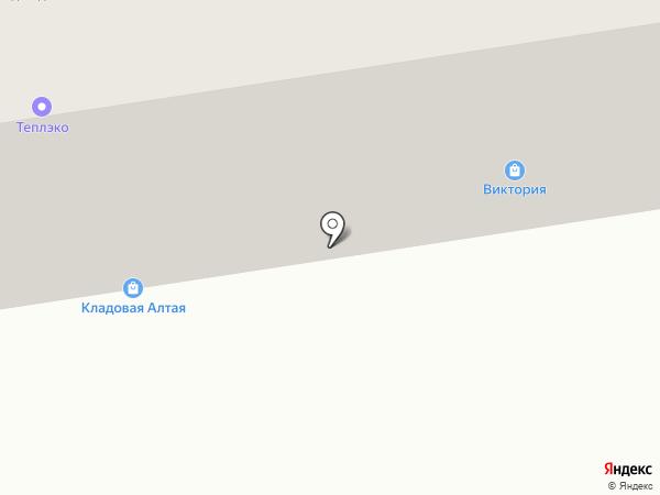 Роса на карте Абакана
