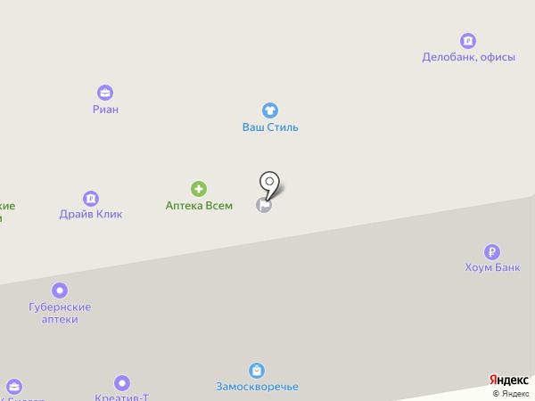 Банкомат, Хоум Кредит энд Финанс Банк на карте Абакана