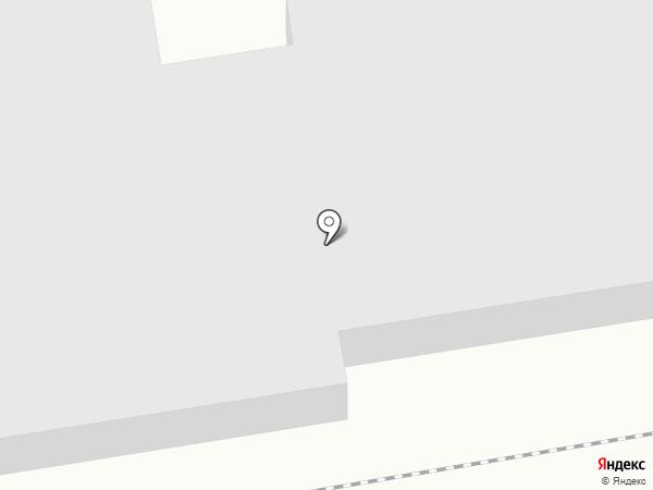 Мебельный Берег на карте Абакана