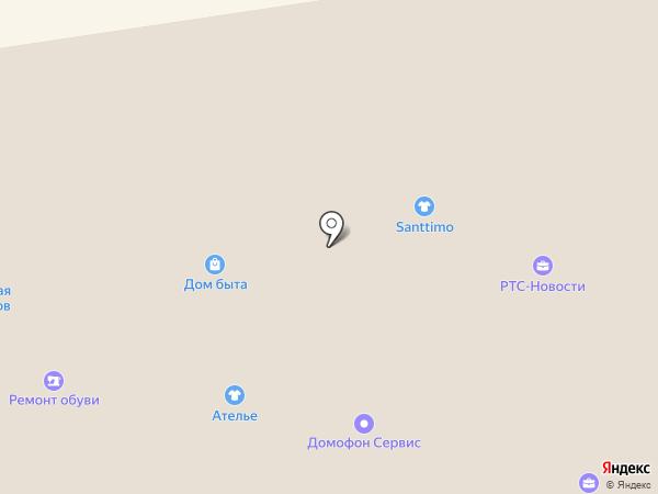 Комиссионый бутик на карте Абакана