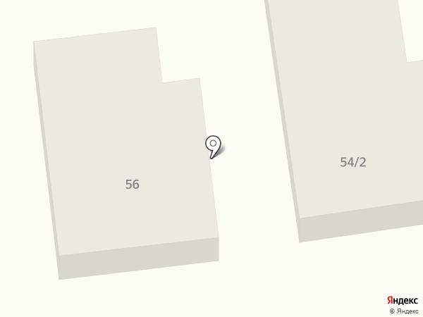 Орион на карте Абакана