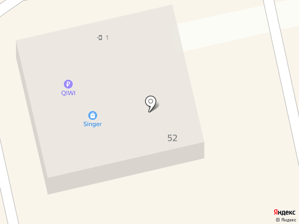 Зингер на карте Абакана