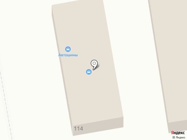 Магазин автошин на карте Абакана