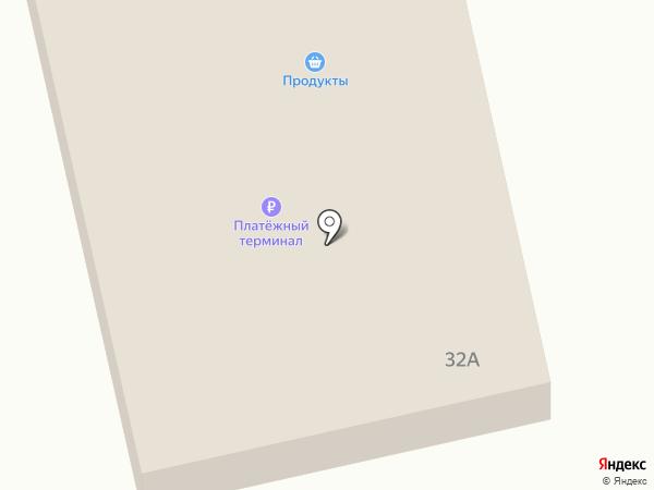 Магазин продуктов на ул. 8 Марта на карте Абакана
