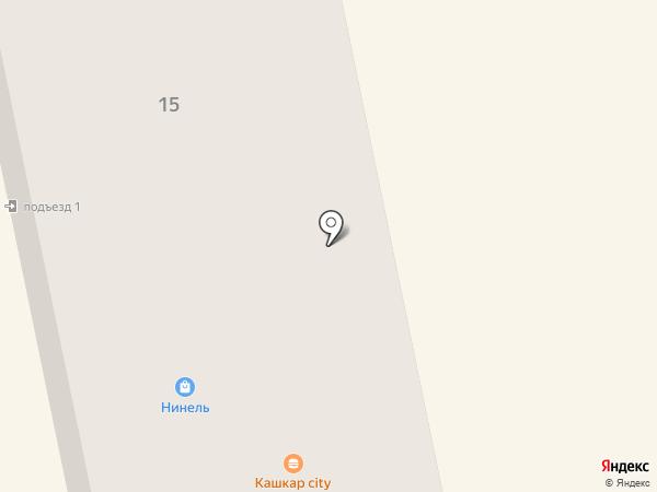Илона Дент на карте Абакана