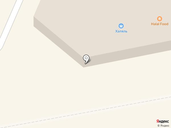 Акация на карте Абакана