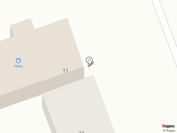 Нива на карте Абакана
