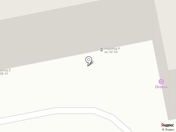 Белый парус, АНО на карте Абакана