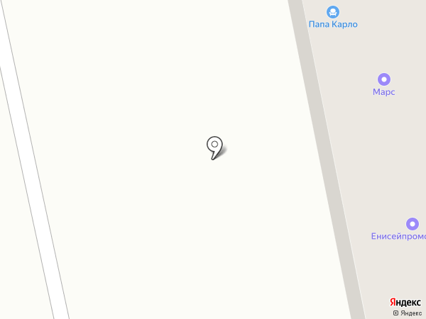 Место на карте Абакана