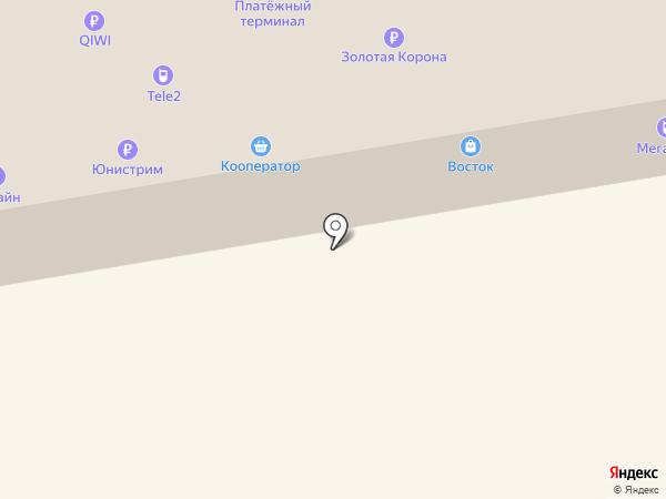 Золотой Амур на карте Абакана