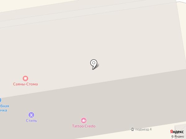 СОВЕТ, КПК на карте Абакана