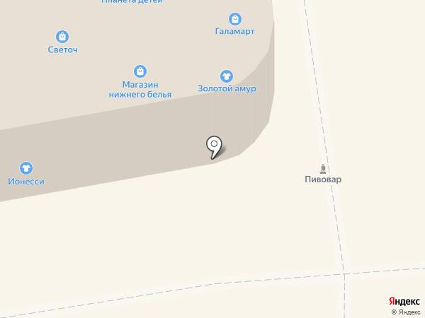 РосДеньги на карте Абакана