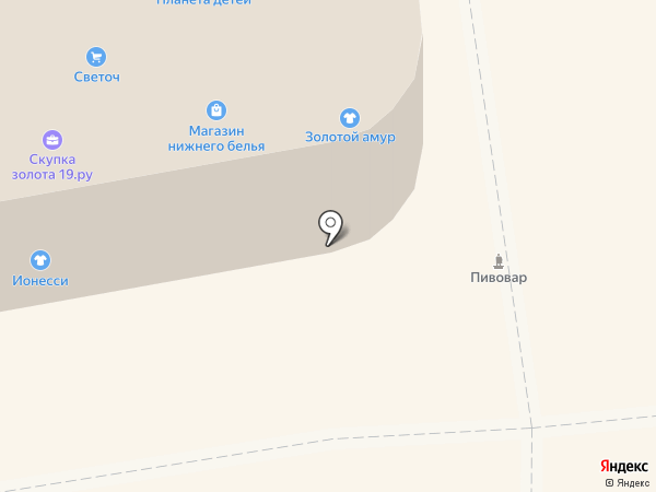 Галамарт на карте Абакана