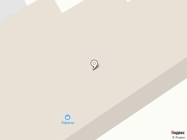 Афина на карте Абакана