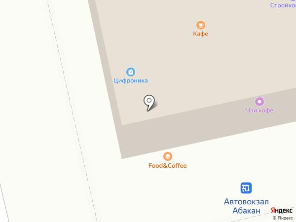 Финтерра на карте Абакана