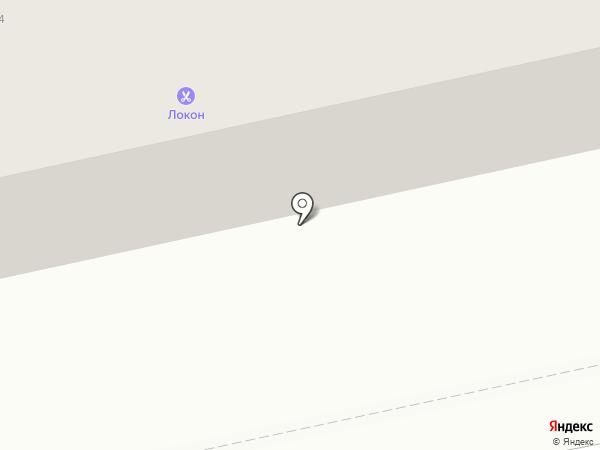У дома на карте Абакана