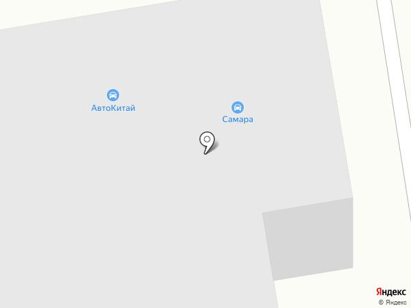Салон компьютерного подбора автоэмалей на карте Абакана