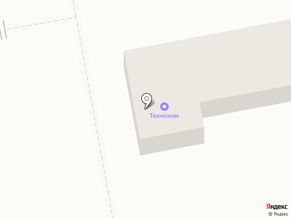 Технознак на карте Абакана